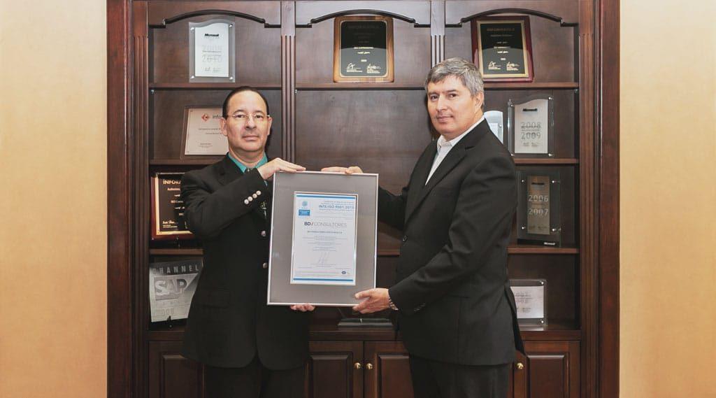 Recibiendo el certificado